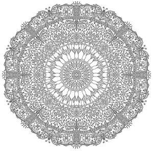 Bored Pandas Free Mandala Coloring Pages