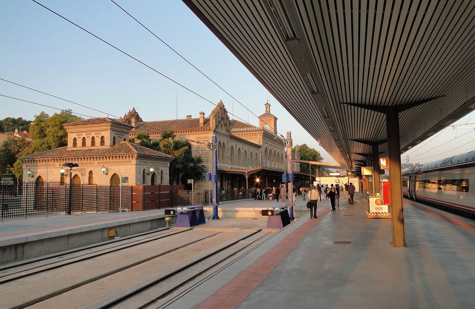 Train station of Toledo, Spain
