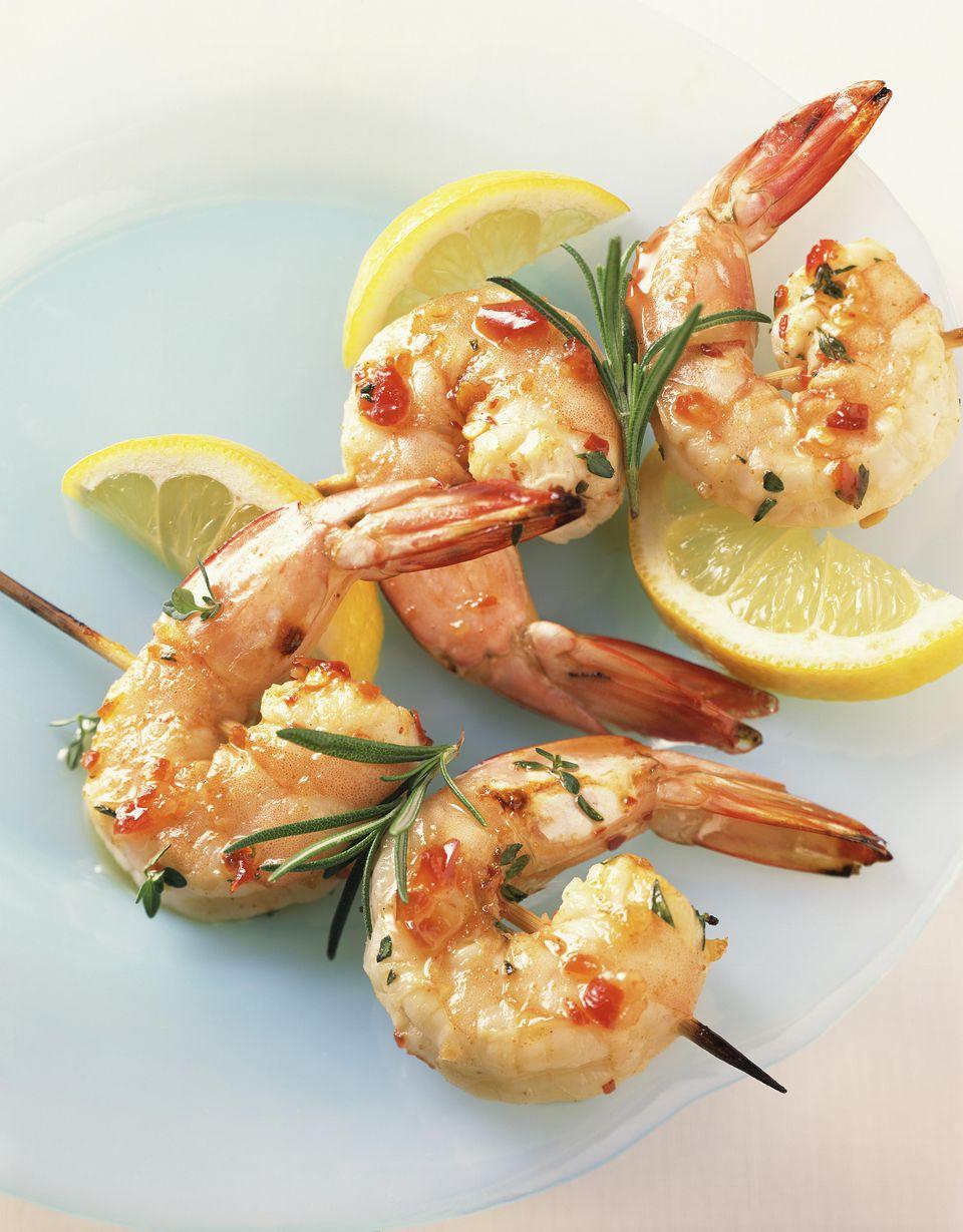 Citrus-Honey Grilled Shrimp
