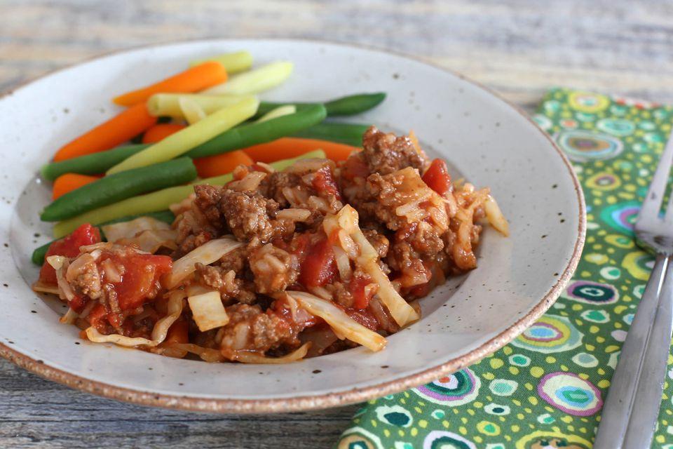 Unstuffed Cabbage Skillet Dinner