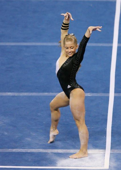 floor gymnastics shawn johnson. Shawn Johnson On Floor At The 2008 US Nationals. © Elsa / Getty Images Gymnastics S