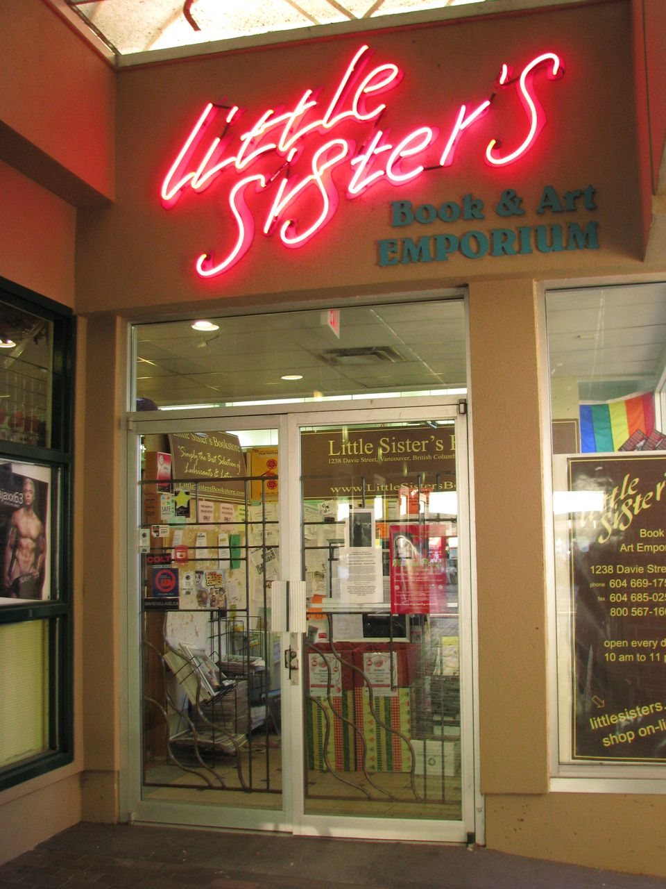 Little Sister s Book And Art Emporium Davie gay books