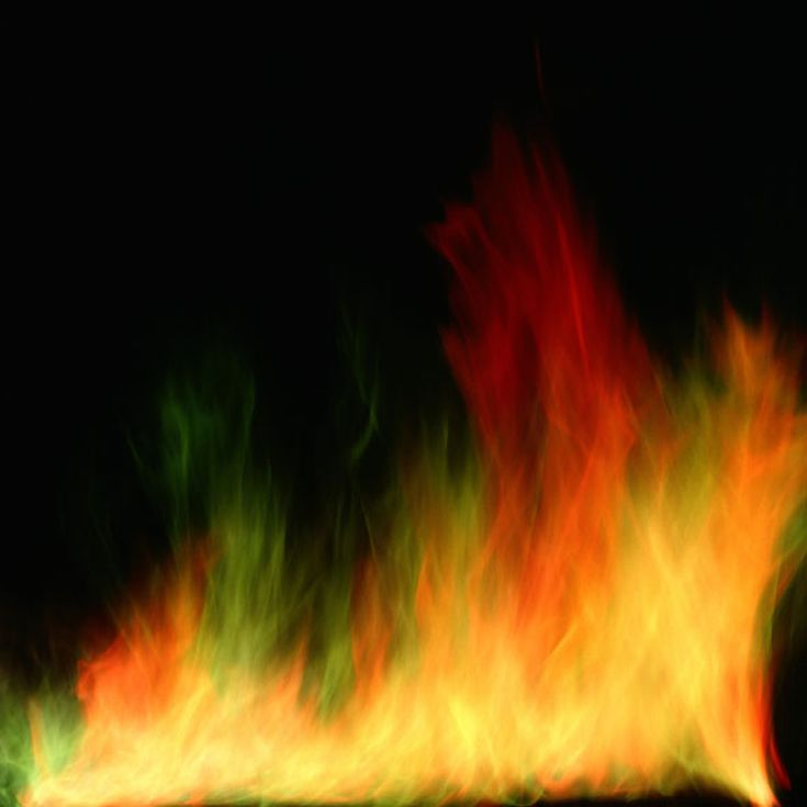 Make Colored Fire in Every Color of the Rainbow