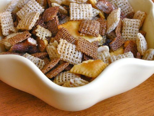 Crockpot Chex Party Mix