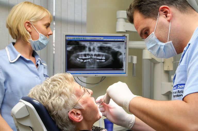 patient in dental chair