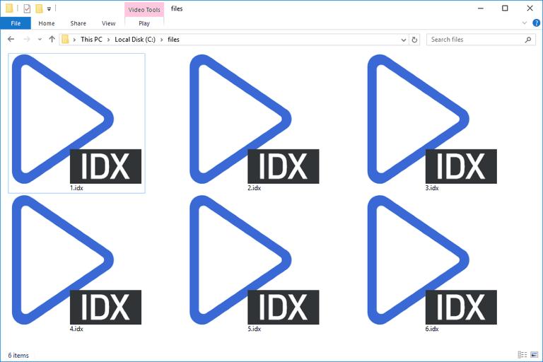 IDX Files