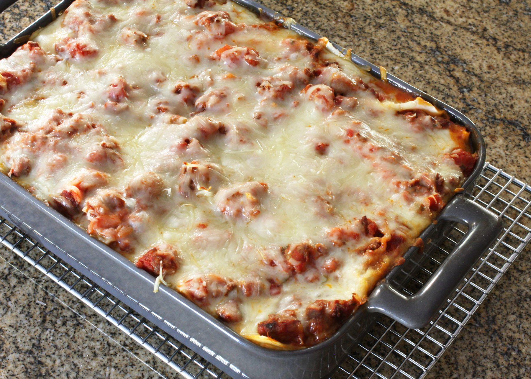 Favorite Meaty Lasagna