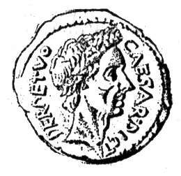 Coin of Julius Caesar
