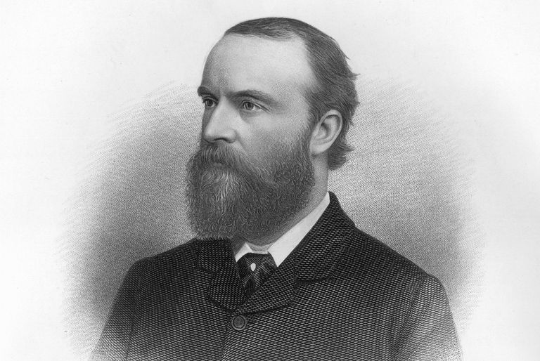 Engraved portrait of Charles Stewart Parnell