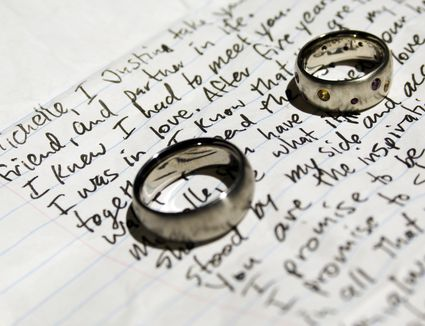 How to write wedding vows and samples 6 steps to your perfect personalized wedding vows junglespirit Gallery