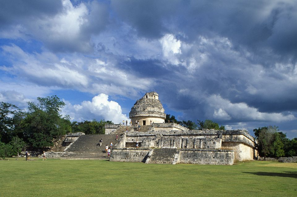 Ruins of El Caracol Observatory at Chichen Itza