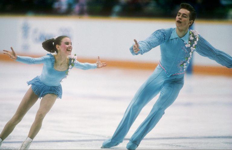 Ekaterina Gordeeva and Segei Grinkov of Russia