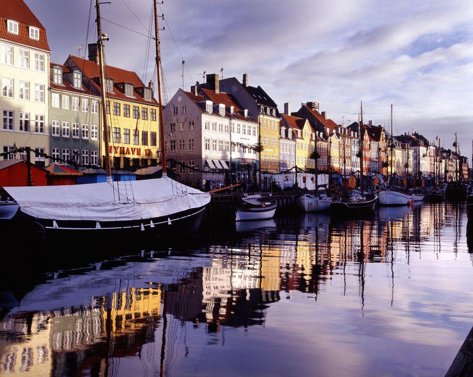 Nyhavn Harbour in Denmark