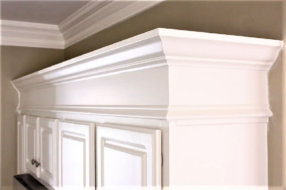 Add Crown Molding & Elevate Kitchen Cabinets