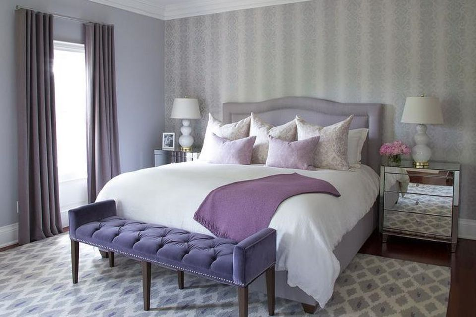 purple bedrooms tips and photos for decorating 12958 | stunning bedroom 86 58a617c55f9b58a3c91536fa