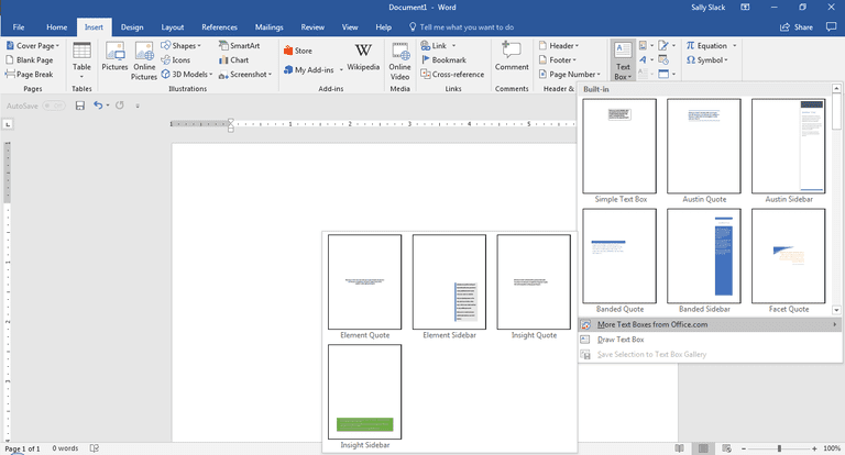 Working with text boxes in microsoft word screenshotmicrosoft word ccuart Choice Image