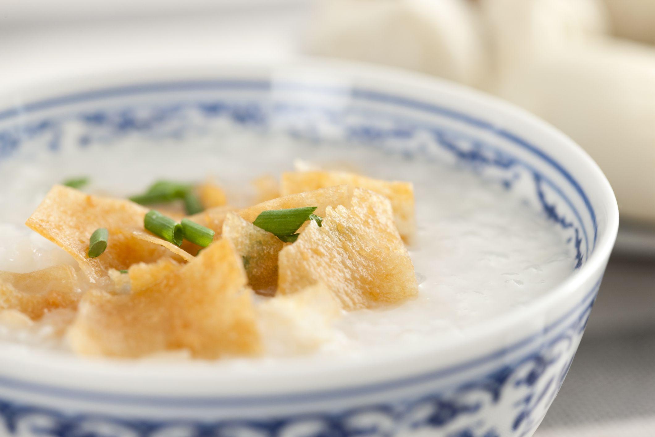 How to Make Congee (Chinese Rice Porridge)