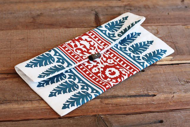 100 great ideas for inexpensive homemade gifts diy placemat clutch solutioingenieria Images