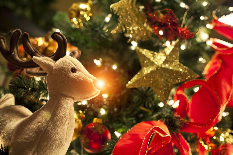 Rudolph Lights Up