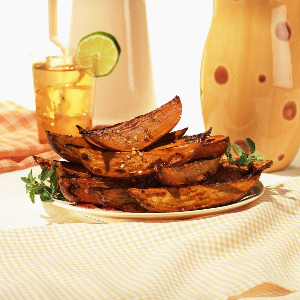 Gluten-free sweet potato fries