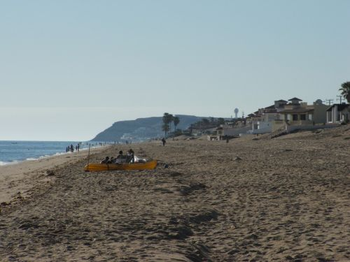 Sandy Beach at Rocky Point, Mexico