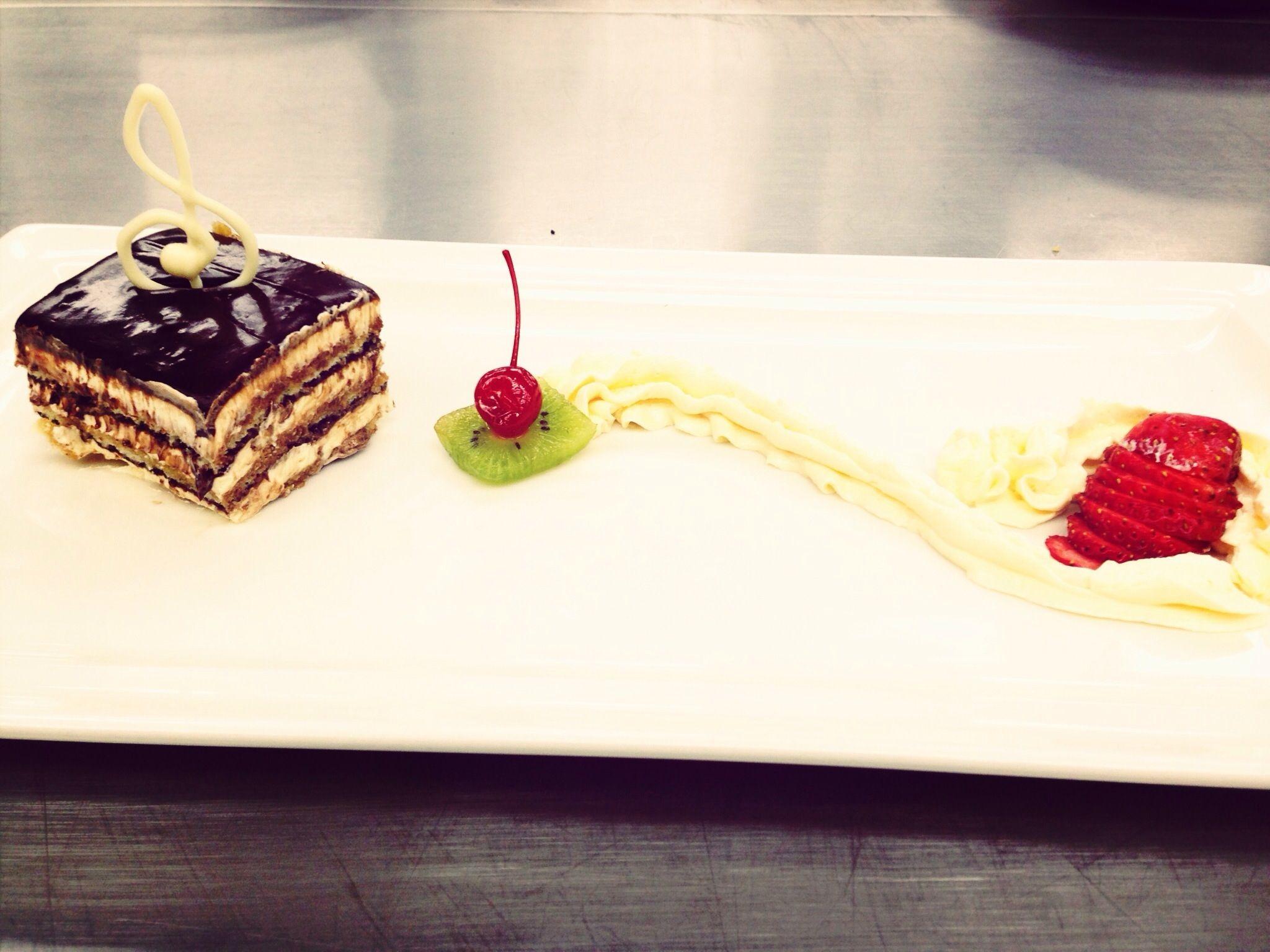 A Classic French Mocha Opera Cake Recipe