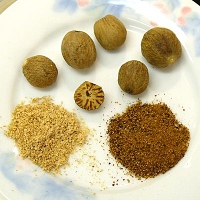 nutmeg, health, whole, ground, grated, spice, recipes, receipts