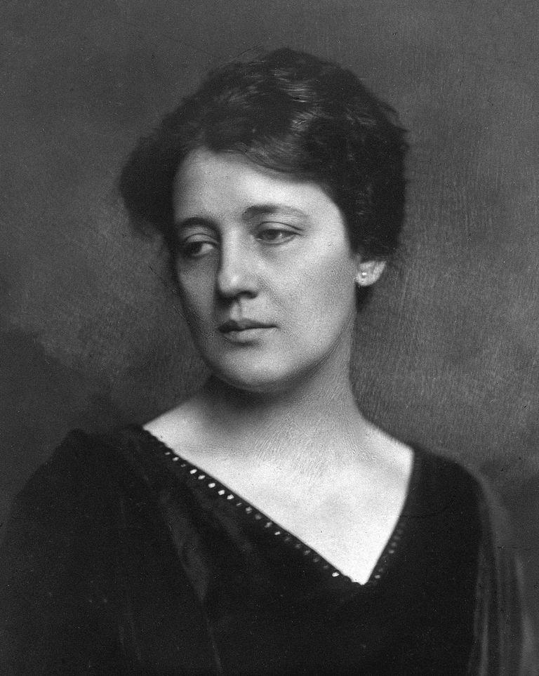 Portrait of Melanie Klein circa 1912