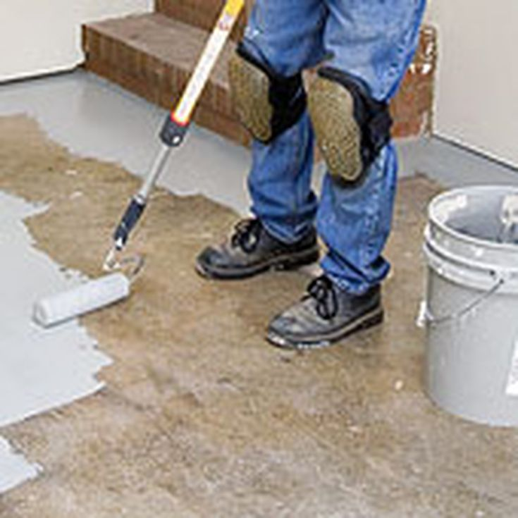 preparing to paint your garage floor - Paint The Floor