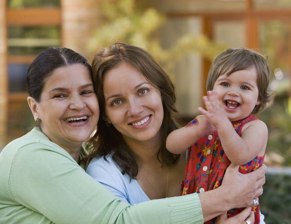 maternal grandparents vs. paternal grandparents