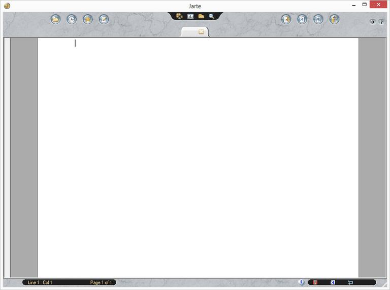 Screenshot of Jarte in Windows 7