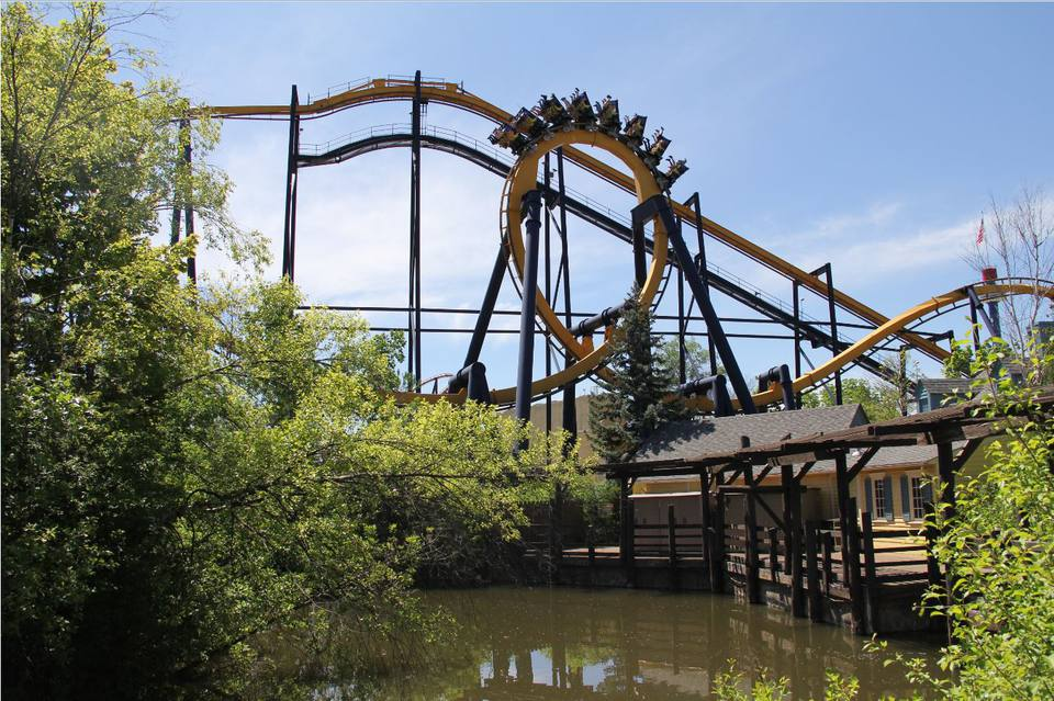 six flags great america height limit