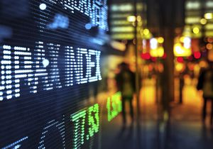 Display stock market data