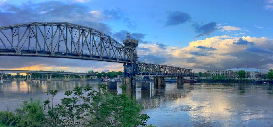 A skyline view of Little Rock, Arkansas