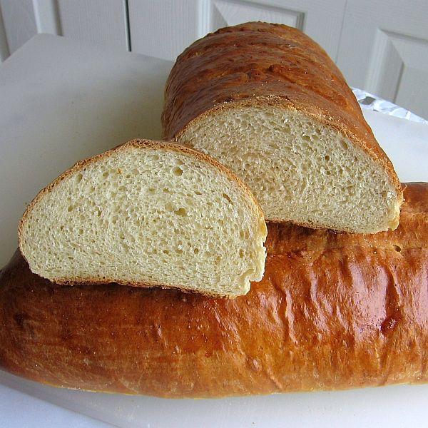 Italian-Style Soft Bread or Włoski Chleb in Polish