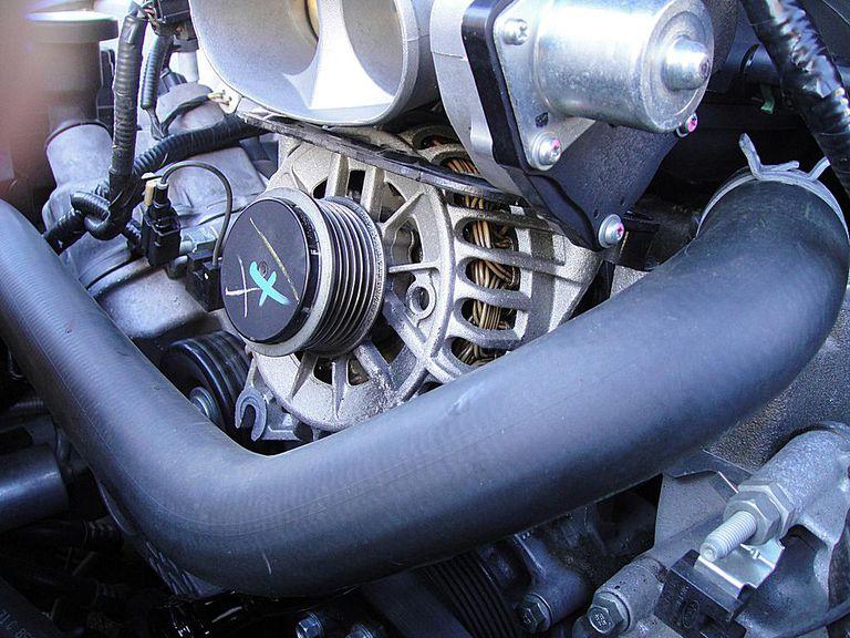 high output alternator
