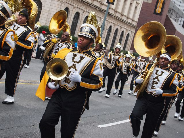 The University of Arkansas at Pine Bluff Marching Band