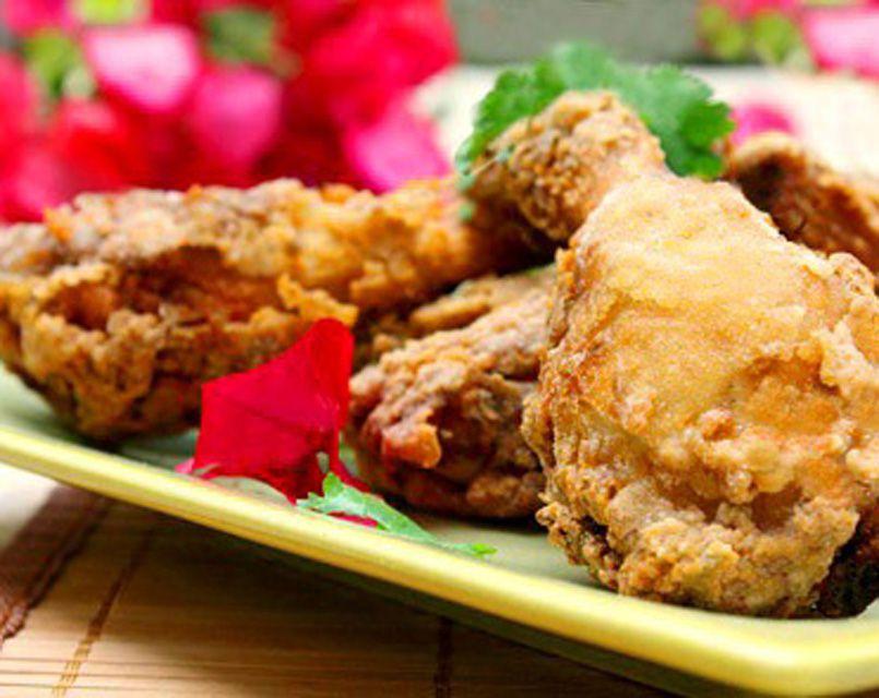 Crisp & Juicy Thai Fried Chicken!