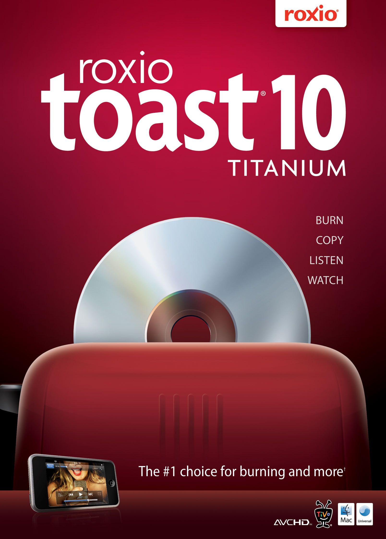 Roxio toast 9 titanium sale