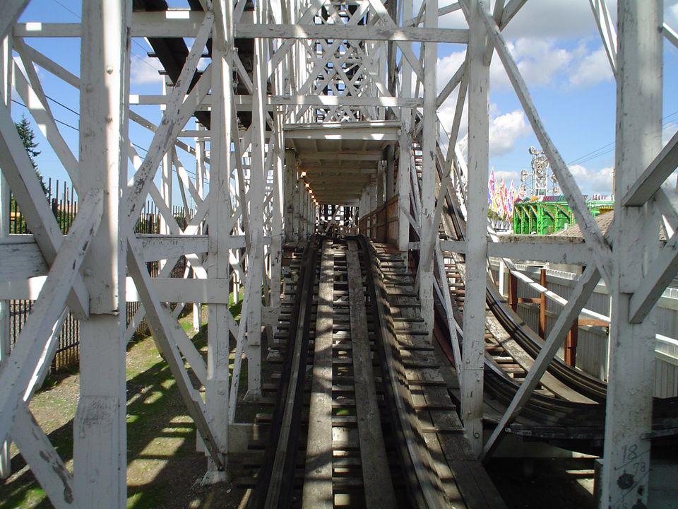 Washington State Fair Rollercoaster