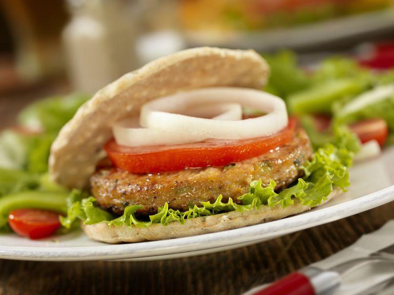 Veggie burgers don't contain hexane.