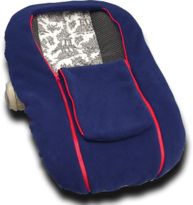 Nuzzler Infant Car Seat Cover