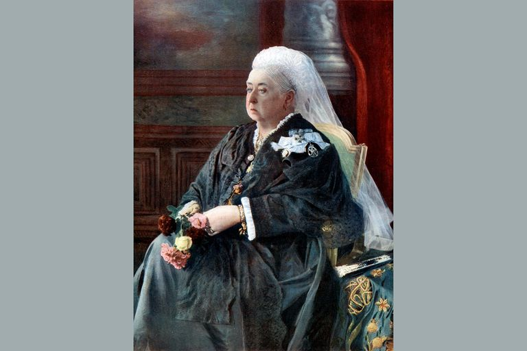 Queen Victoria, late 19th century