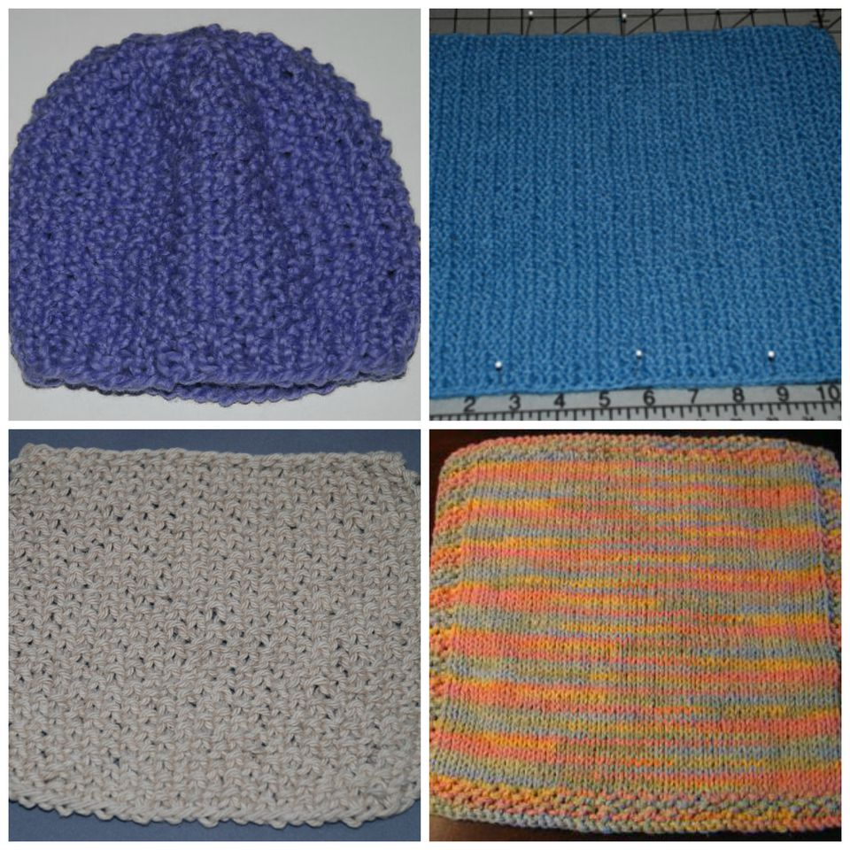 Seed stitch is a great basic knitting pattern stitch with a lot of texture.