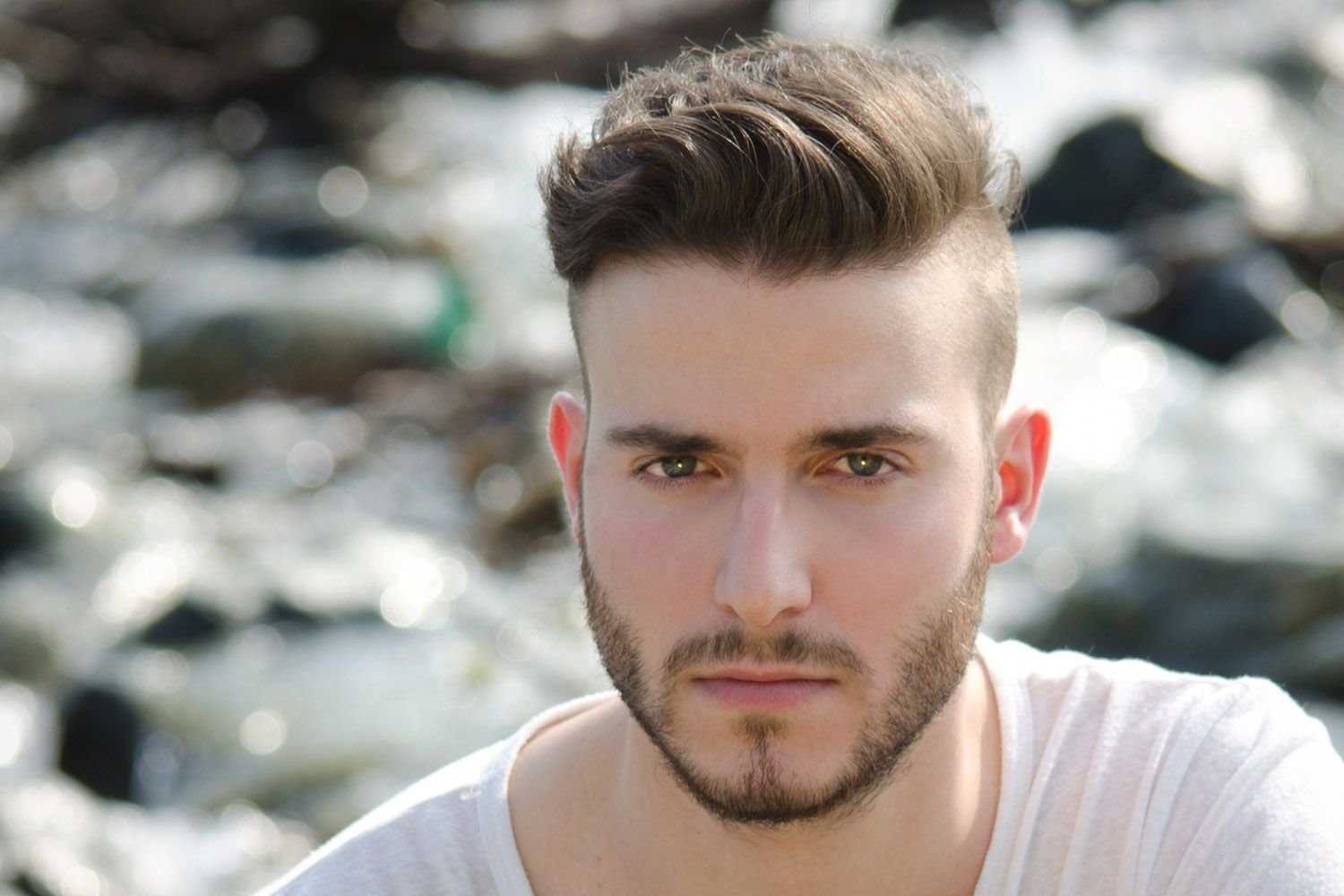 Mens Hair Trend Short Sides Disconnected Top