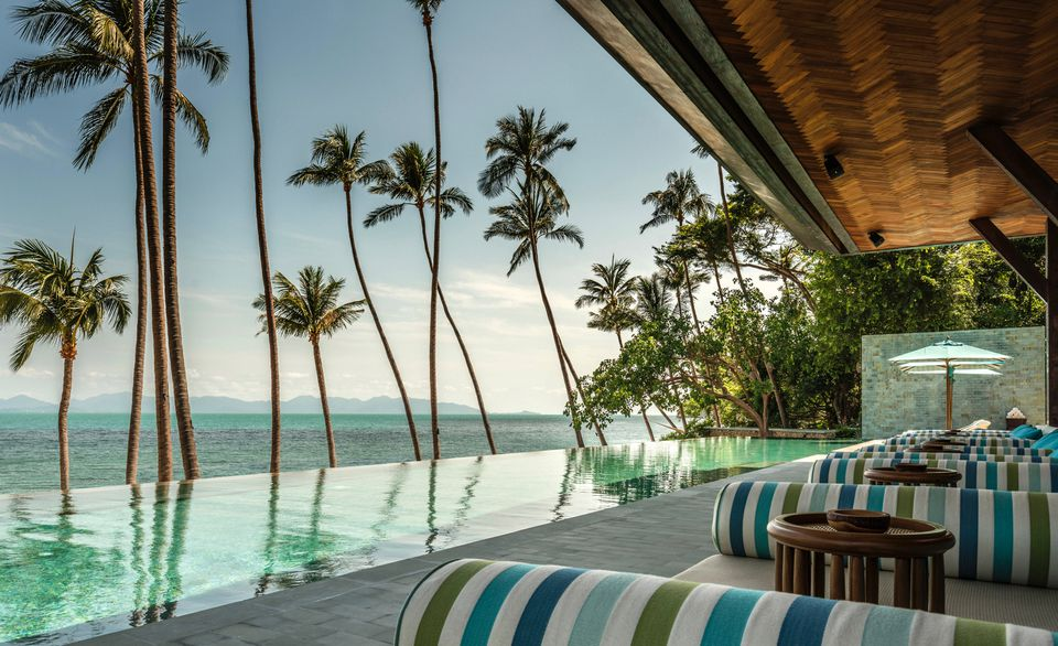 Four Seasons resort on Koh Samui Thailand