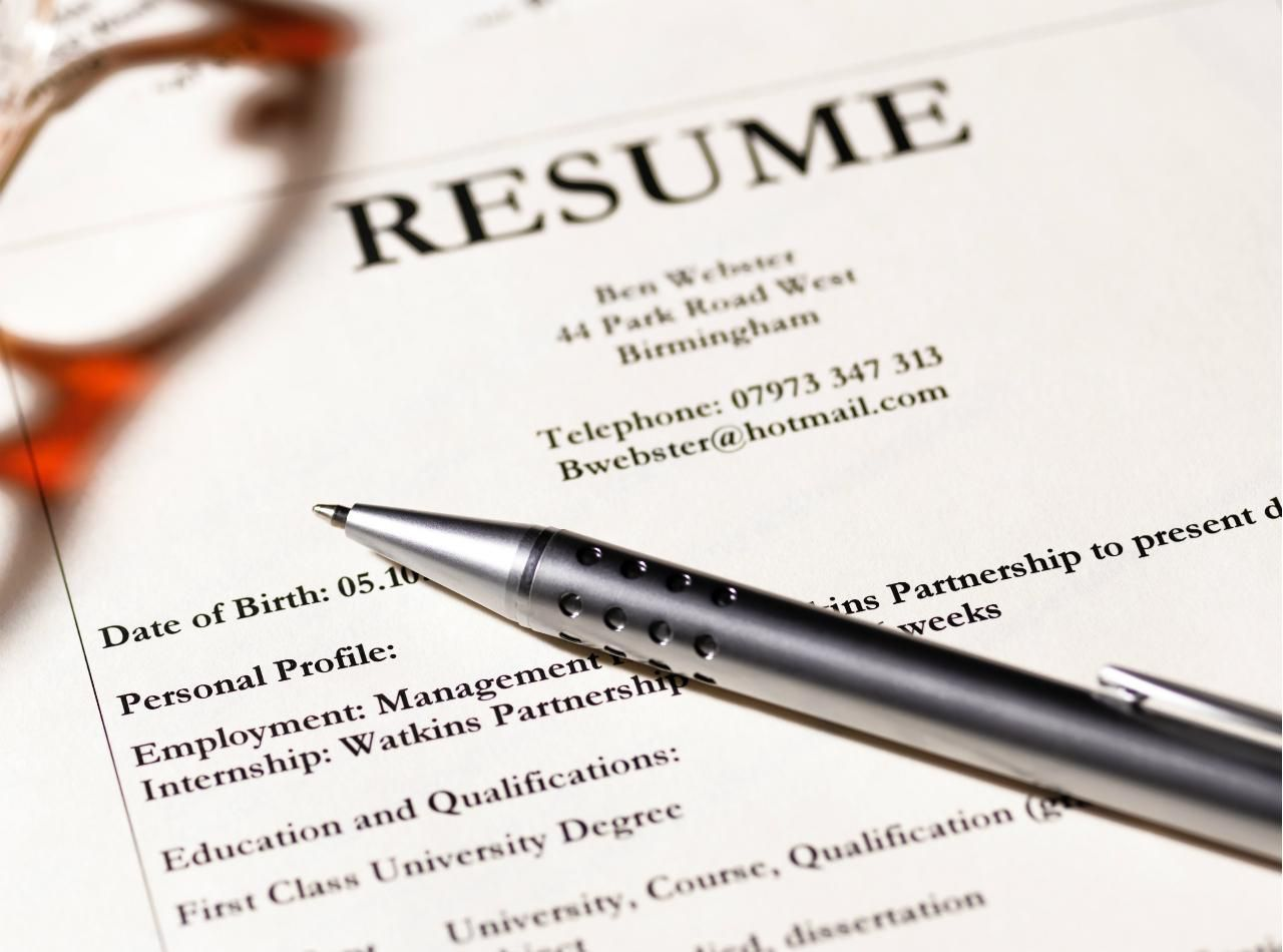 standard formatting guidelines for resume margins